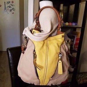 orYANY Pebble leather Victoria hobo bag